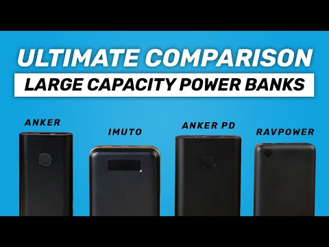 TESTED: Large Capacity USB Power Bank Comparison 2019