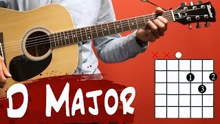 Guitar Lessons for Beginners  D Major Chord
