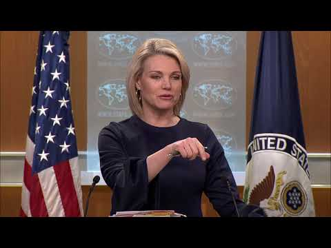 Department Press Briefing  - March 6, 2018