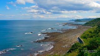 4K 日南海岸 宮崎県 Coastline Miyazaki Kyushu JAPAN