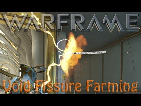 Warframe - Void Fissures & Void Relics