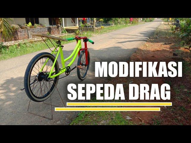 Modifikasi Sepeda Drag Karya Anak Indonesia Youtube