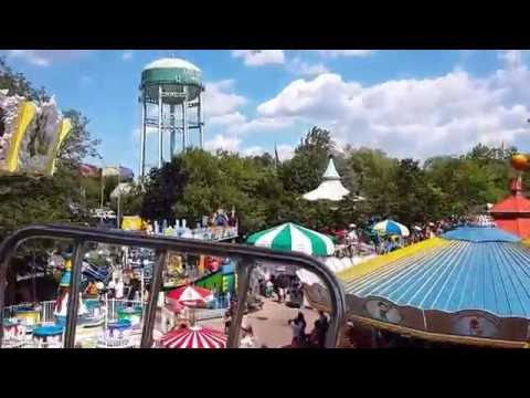 Ferris Wheel Daytime Full on Ride POV at Adventureland in Farmingdale,NY Late 2016