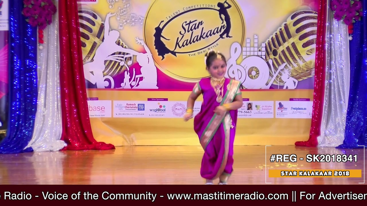 Registration NO - SK2018341 - Star Kalakaar 2018 Finals - Performance