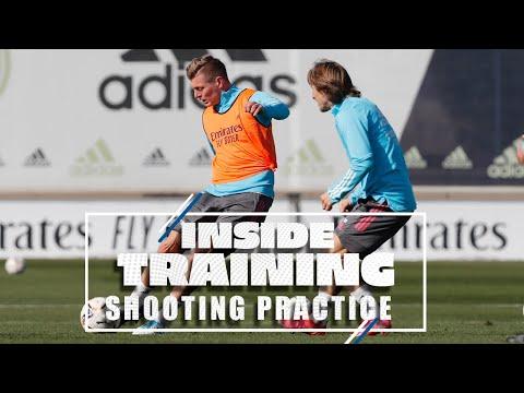 🎯 AMAZING shots & saves! | Real Madrid training