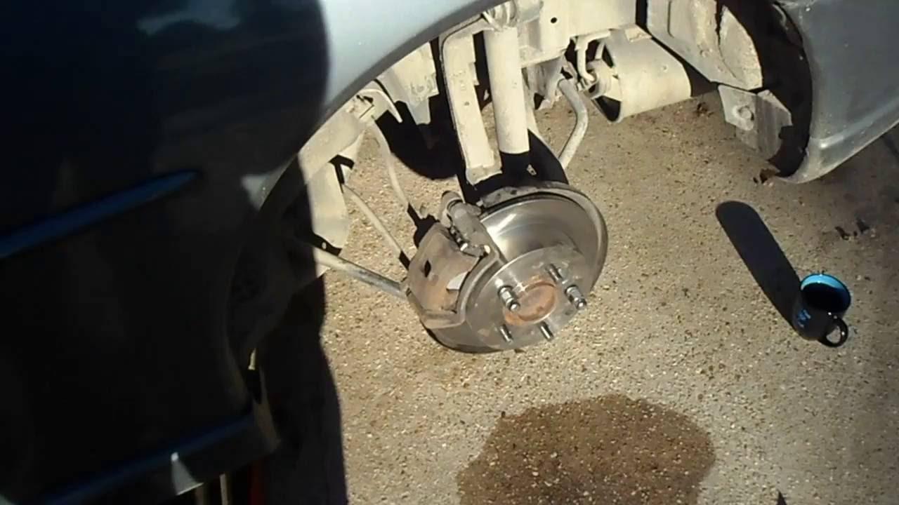 Mitsubishi Eclipse 06-08 Emergency//Parking Brake Shoes