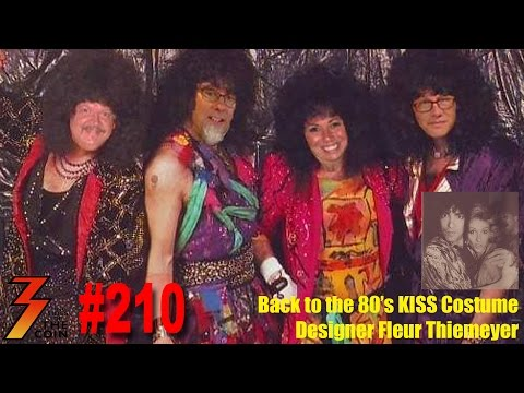 Ep. 210 Back to the 80's with KISS Costume Designer Fleur Thiemeyer