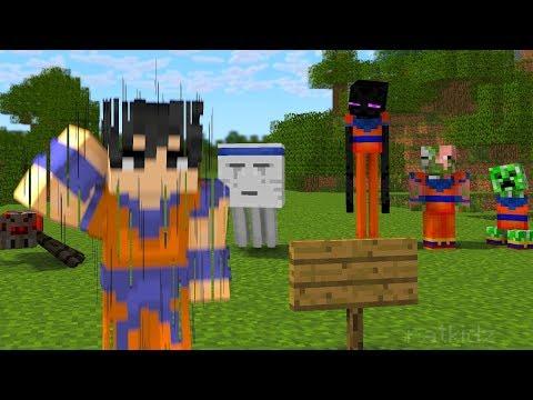 Monster School : Dragon Ball Z Challenge - Instant Transmission - Minecraft Animation