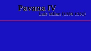 Luis Milan Pavana IV