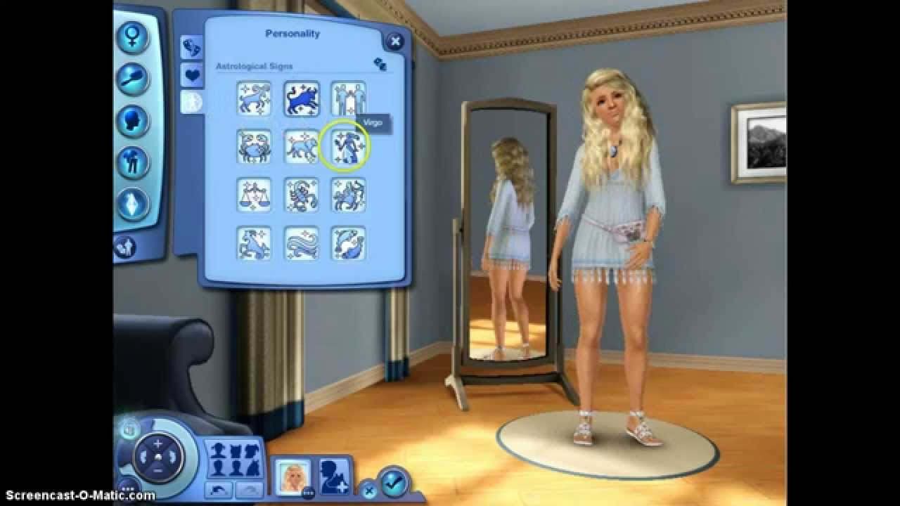 The Sims 3: Human Girl, Werewolf Boy Love Story