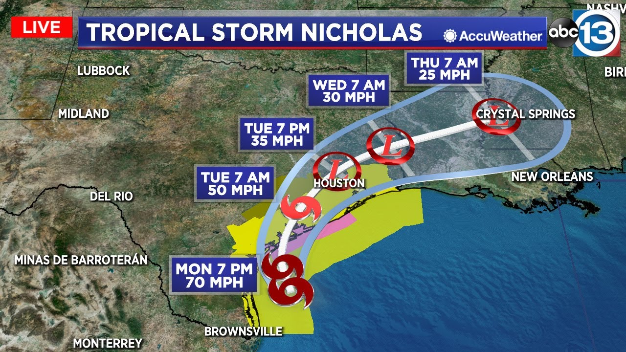 Tornado Warning Expires In East Houston, Harris County: NWS