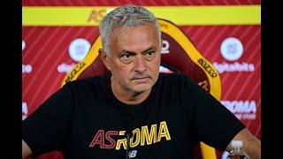 CONFERENZA STAMPA | José Mourinho alla vigilia di Roma-Sassuolo