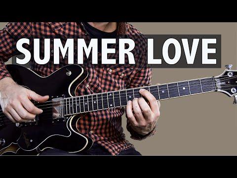 Chelsea Cutler - Summer Love // Easy Guitar Lesson For Beginners (CHORDS & TAB)