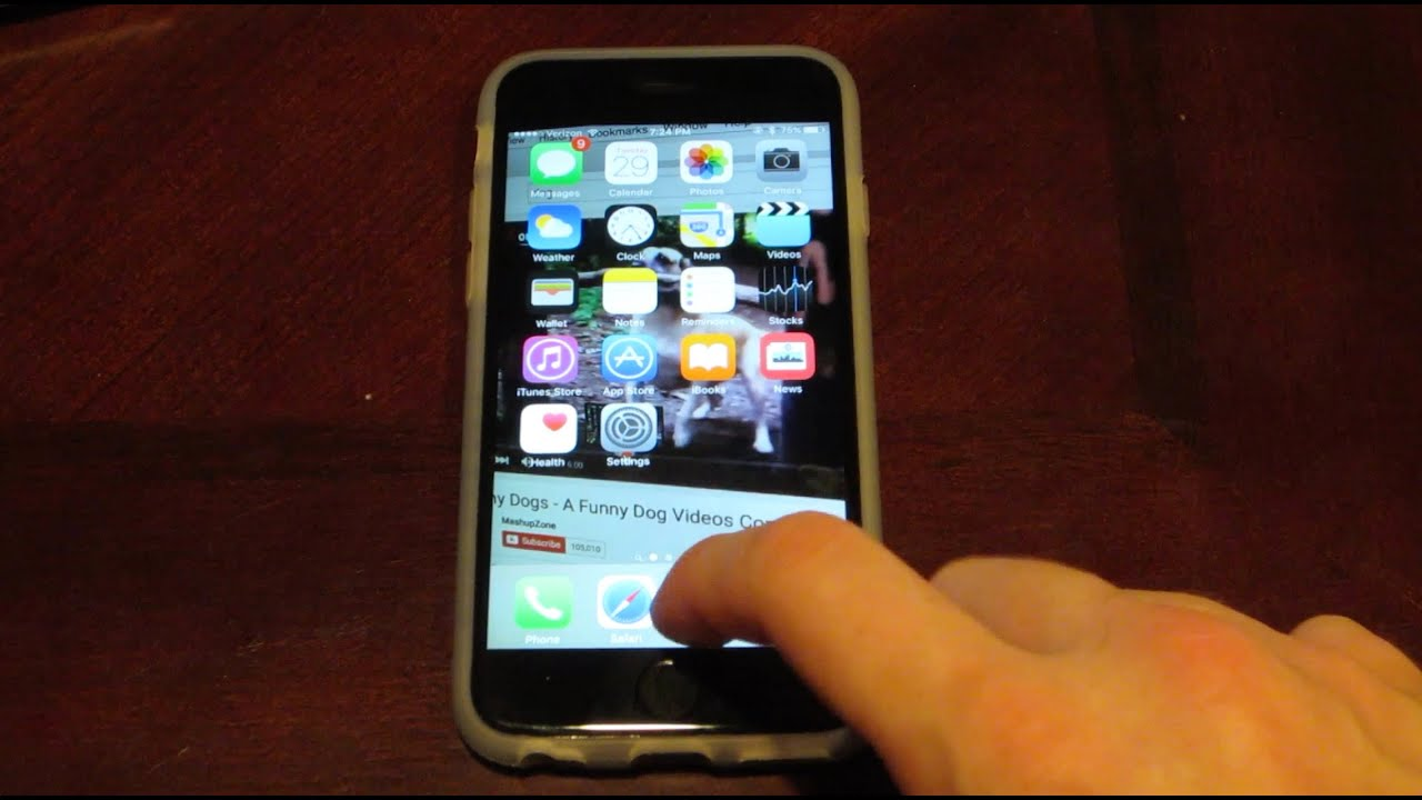 The Best Hidden Features of the iPhone 6s! - YouTube