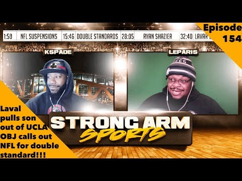 Lavar Pulls Liangelo from UCLA, Jah FINALLY Traded | Strong Arm Sports Podcast Ep154