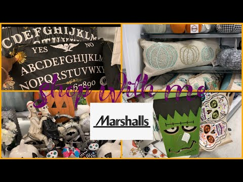 Marshall's Fall and Halloween Decor August 2019