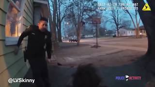 This cop grew up in the hood; Tells teen to throw hands and that he won't arrest him after it