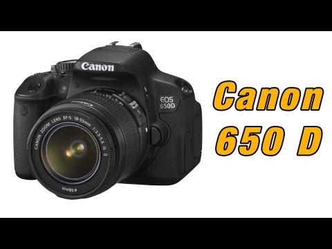 Canon EOS 650D / T4i recenzja, prezentacja, test, opinia, review.