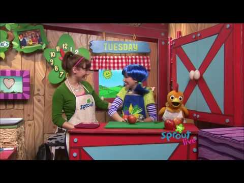 Sprout's Sunny Side Up Show with Bean - February 14 2012 1080i HDTV