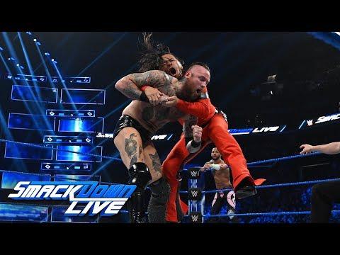 Aleister Black & Ricochet Vs. Shinsuke Nakamura & Rusev: SmackDown LIVE, Feb. 26, 2019