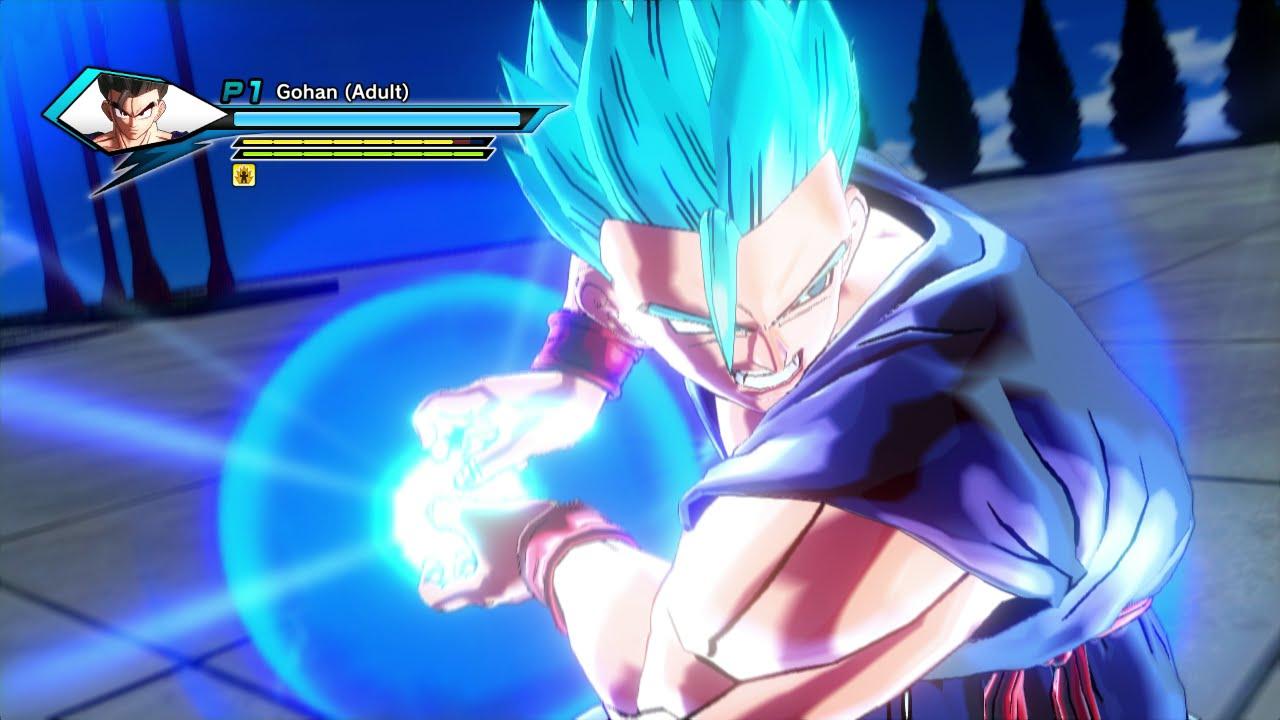 Gohan super saiyan blue vs gogeta super saiyan 4 dragon ball xenoverse mod youtube - Dragon ball gohan super saiyan 4 ...