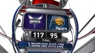 Charlotte Hornets vs Indiana Pacers - February 10, 2016