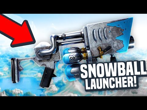 NEW SNOWBALL LAUNCHER & MORE! - Fortnite Battle Royale Christmas Update