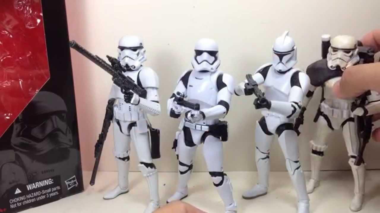 2015 Star Wars Black Series 6 inch First Order Stormtrooper 04 Force Awakens