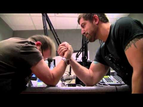 Jeremy Camp Arm Wrestles Wally