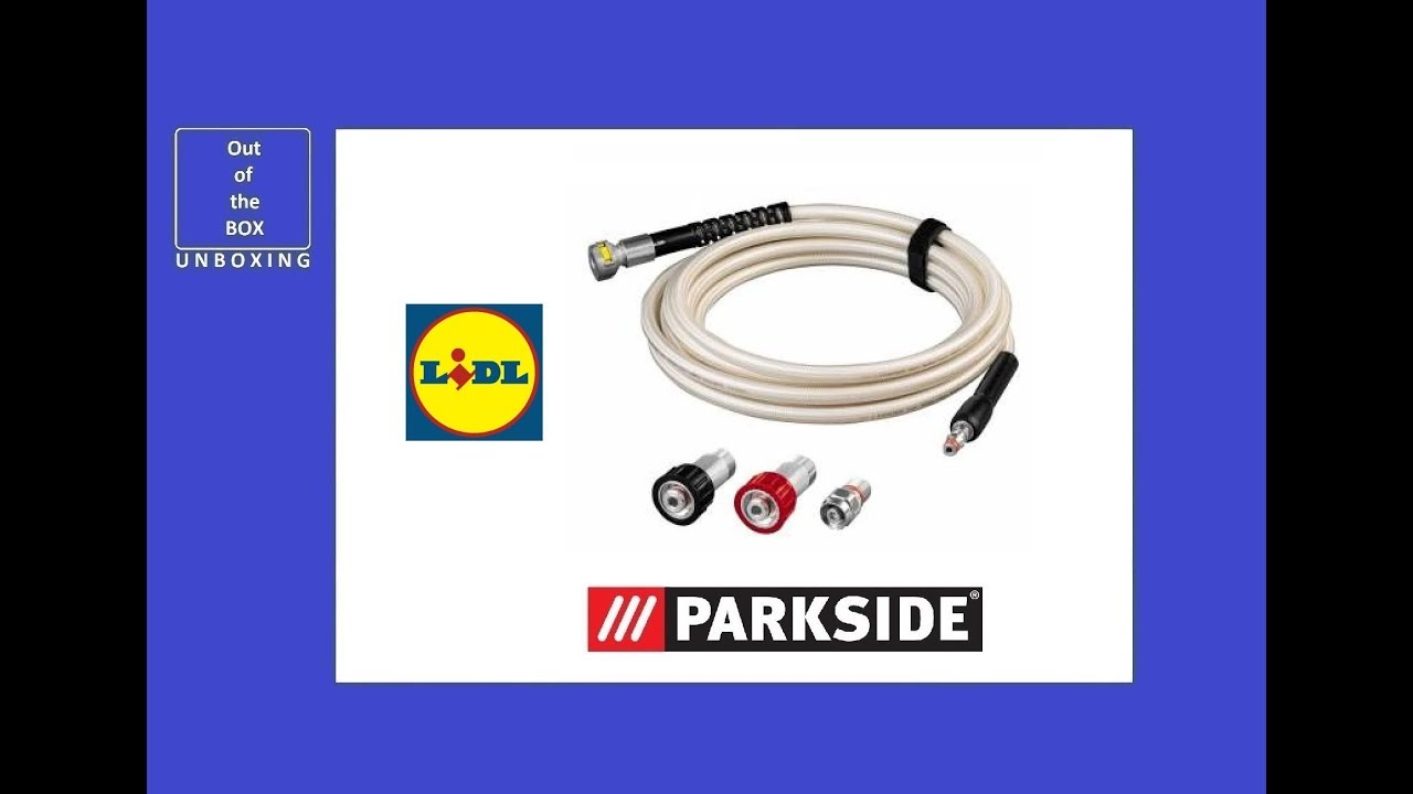 Parkside Pressure Washer Lance Fitting