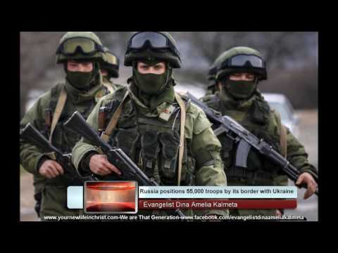 Russia positions 55,000 troops on their border with Ukraine-Is Russia preparing for war?