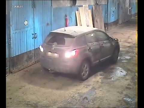 Угон иномарки из автосервиса в Мурманске