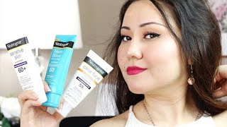 BEST & WORST NEUTROGENA SUNSCREENS | A VIDEO THAT SAVES YOUR MONEY | Hydro Boost, Clear Face & More