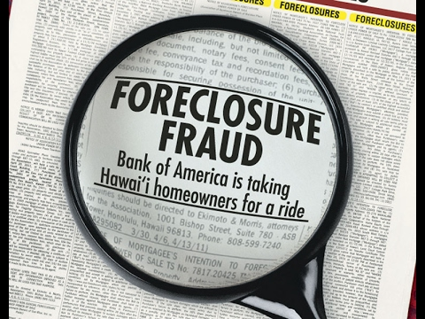How the Mortgage Fraud went down
