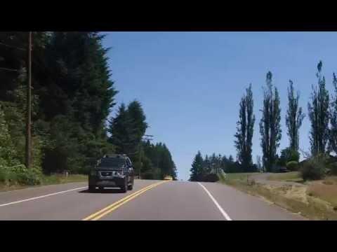 Random drive thru Olympia, Washington and suburbs