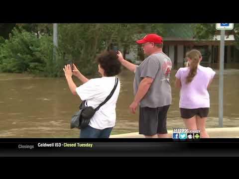 KBTX - Hundreds of La Grange residents displaced after historic flood