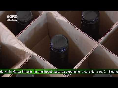 Moldova exportă cantități substanțiale de vin în Marea Britanie