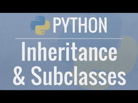 Python OOP Tutorial 4: Inheritance - Creating Subclasses