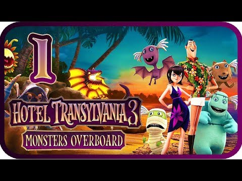 Hotel Transylvania 3: Monsters Overboard Walkthrough Part 1 (PS4, XB1, PC, Switch) 100%