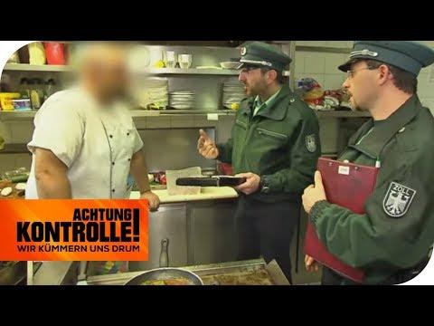 Zöllner umzingeln das Restaurant: Gibt es hier Schwarzarbeit? | Achtung Kontrolle | kabel eins