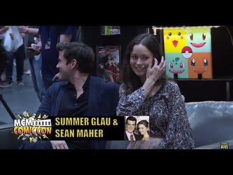 Summer Glau & Sean Maher  @MCM London May 2017