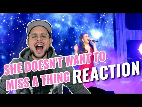 Regine Velasquez - I Don't Wanna Miss A Thing | At The Movies | REACTION