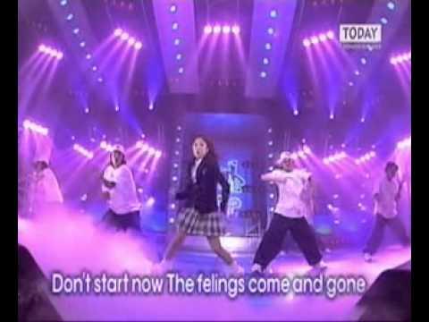 [2001.03.02] BoA - Dont Start Now (Ntop 인기가요)