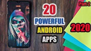 20 BEST Android App of 2020 | Powerful Android Apps 2020 (Part 2)