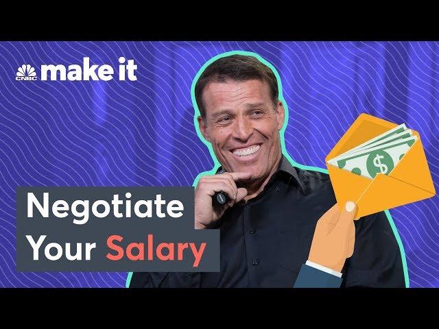 Tony Robbins On How To Negotiate Your Salary
