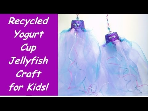 Jellyfish Recycle Craft