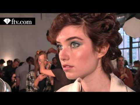 Diane Von Furstenberg Spring 2016 Makeup ft Karlie Kloss   NYFW   FTV.com