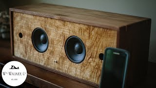 Wireless Bluetooth Speaker: Wireless Rechargeable Battery Powered Bluetooth Speaker | Woodworking