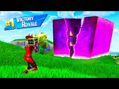 How To Break THE CUBE In Fortnite Battle Royale
