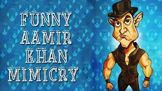 Funny Mimicry Of Aamir Khan From Dhoom 3 | Abin Sinha